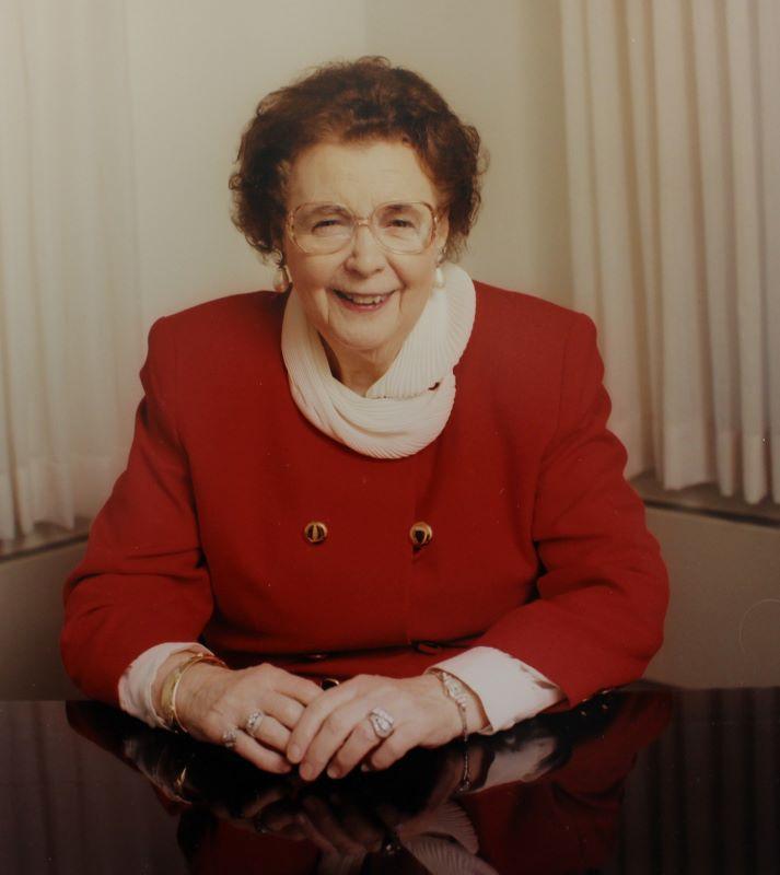 Dr. Gertrude Barber
